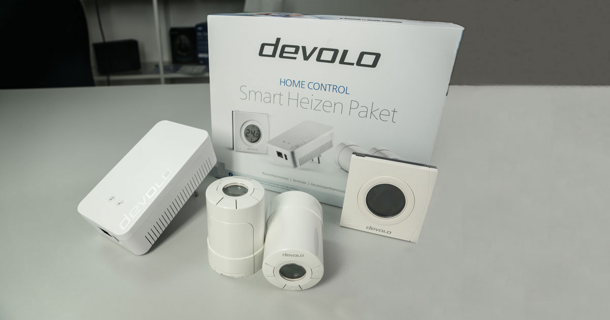 vorstellung devolo home control smart heizen paket. Black Bedroom Furniture Sets. Home Design Ideas