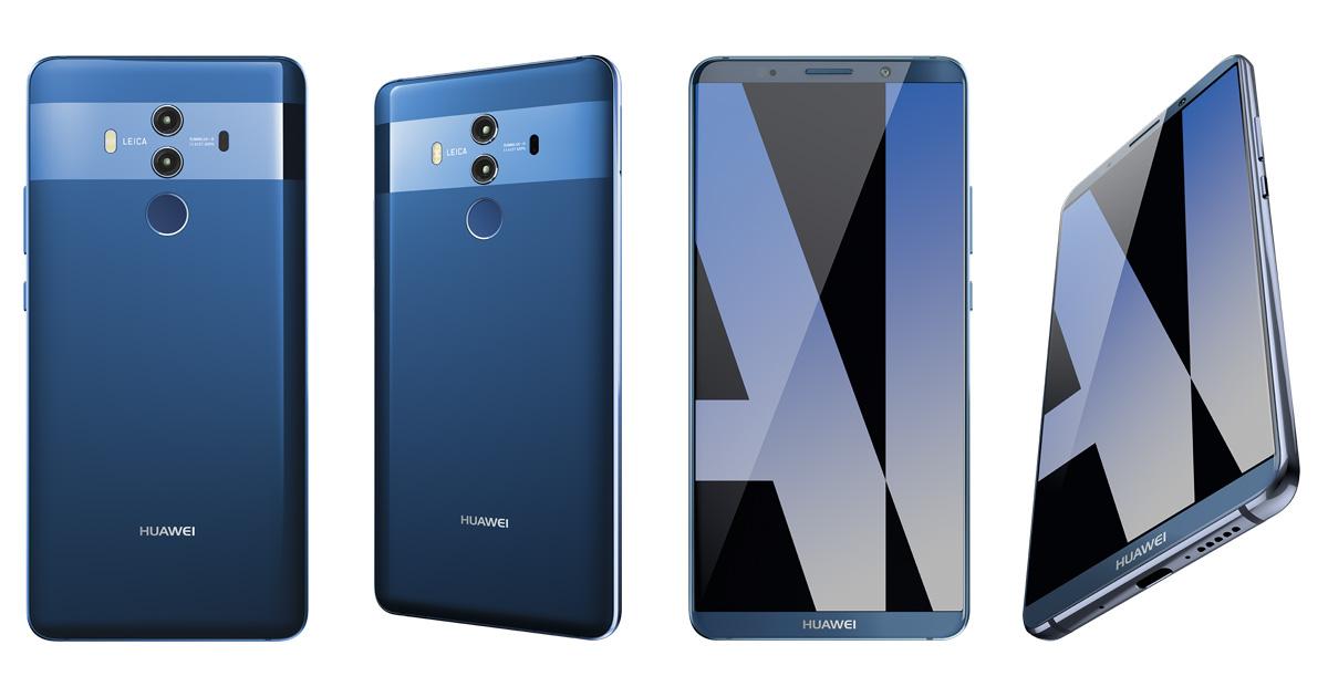 Huawei Pr 228 Sentiert Das Mate 10 Pro
