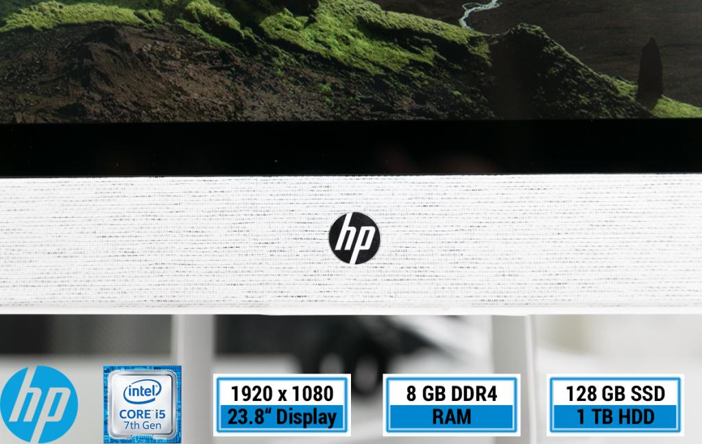 HP Pavilion All-in-One PC 24 – Schicker Allrounder fürs Wohnzimmer mit Intel Optane