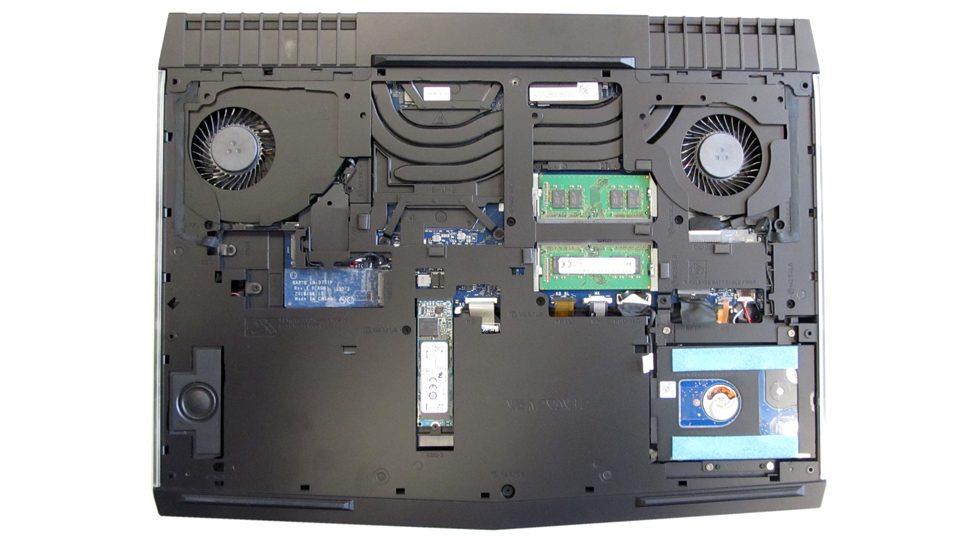 Dell-Alienware-17-R4 Innenansicht