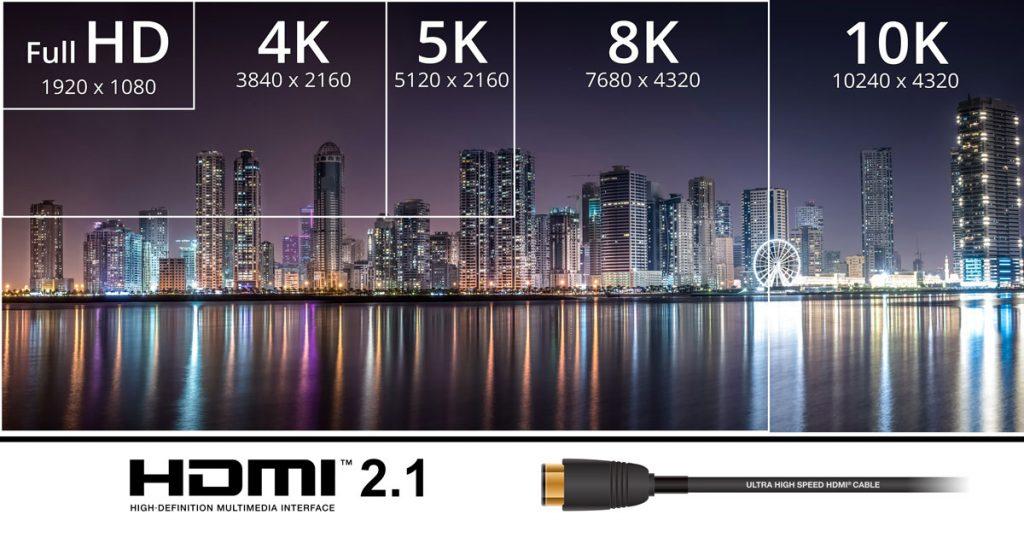 HDMI 2.1 unterstützt 10K, Dynamic HDR und mehr