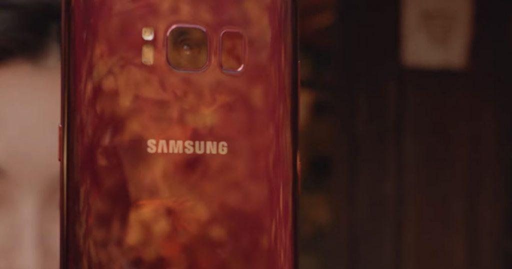 Das Samsung Galaxy S8 gibt's bald auch in wunderschönem Rot
