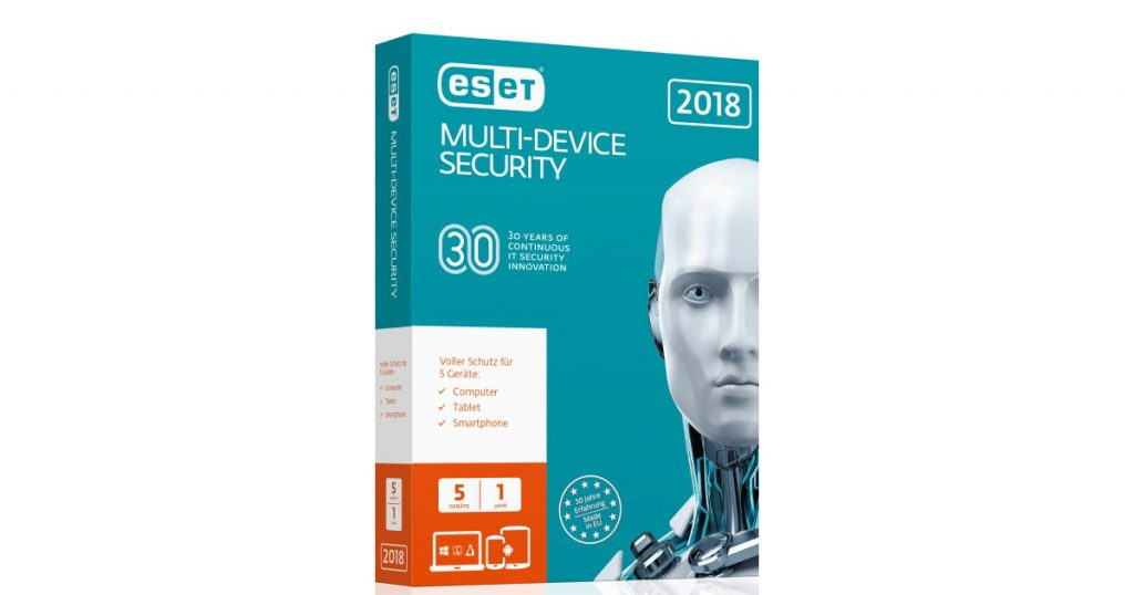 ESET Multi-Device Security 2018: Komplettschutz für euer System