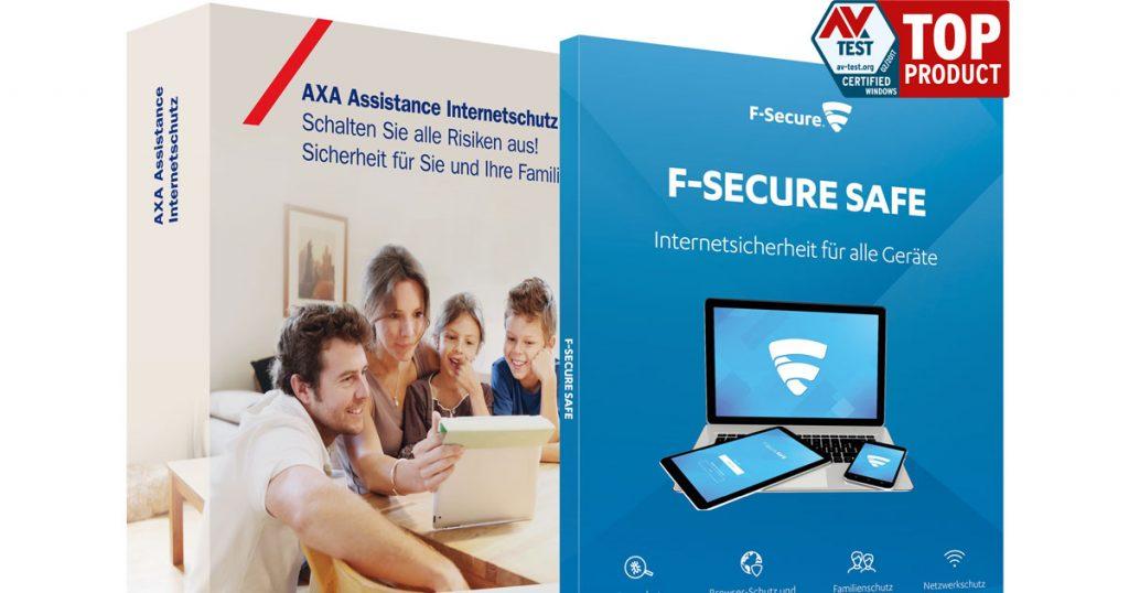 F-Secure mit AXA Assistance – Rundumschutz für euren PC