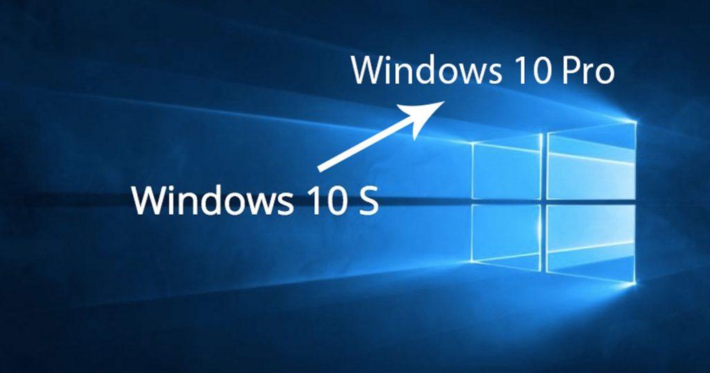 Wechsel von Windows 10 S auf Windows 10 Pro dauerhaft kostenlos. Wenn…