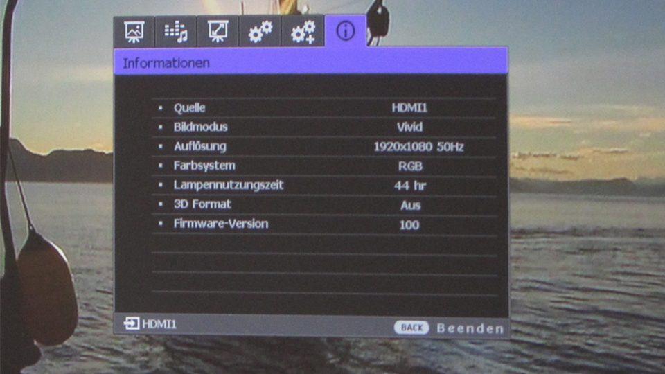 BenQ W1090 Setting_1
