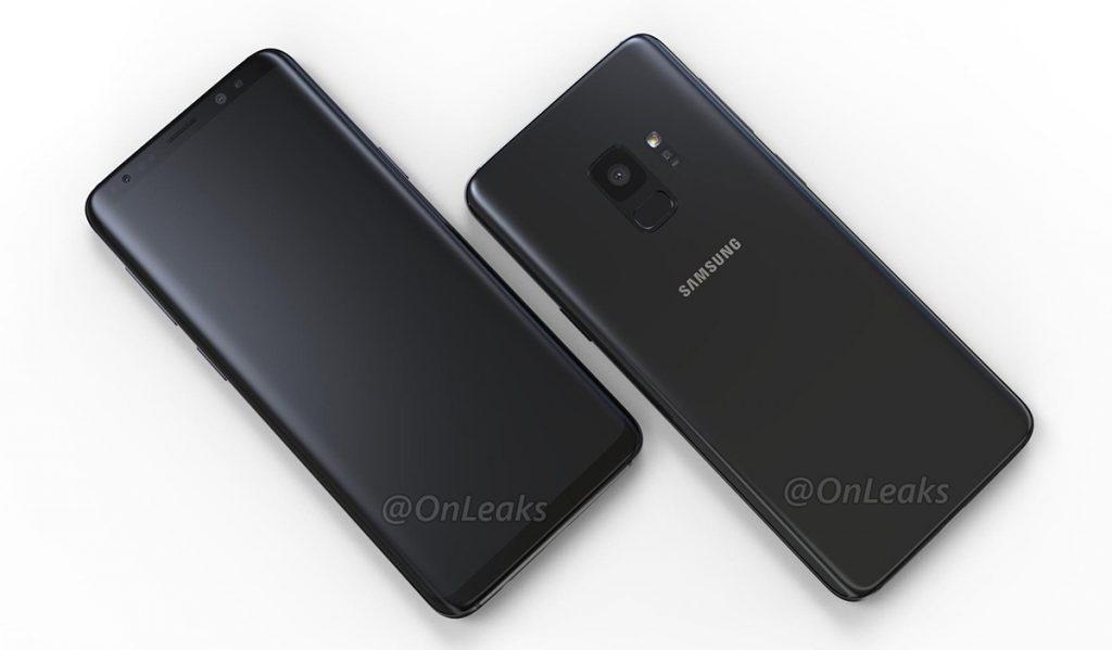 Renderbilder Samsung Galaxy S9
