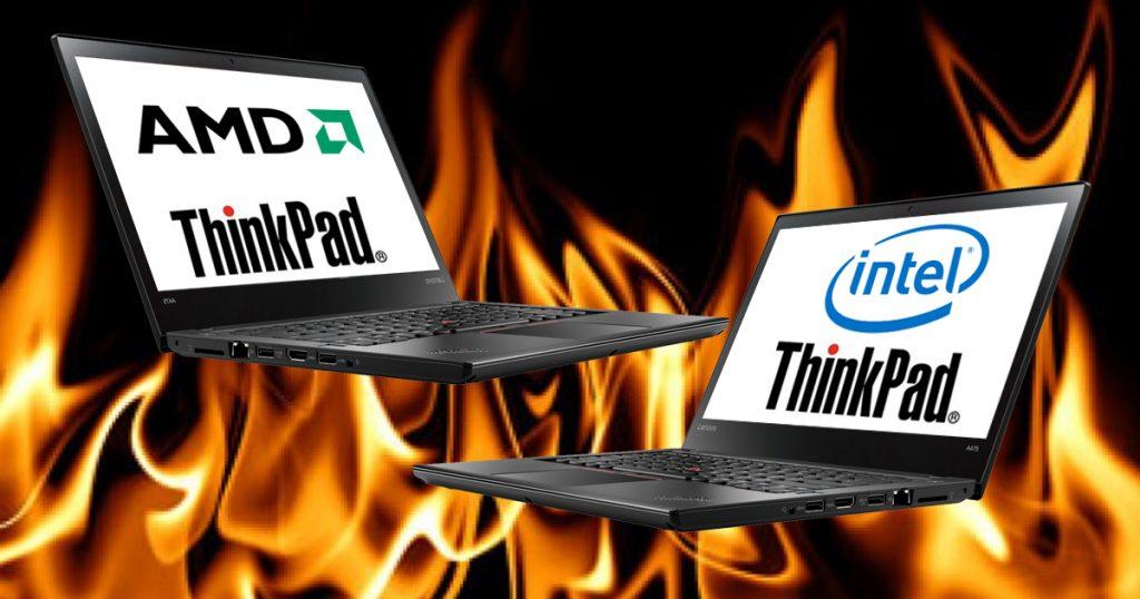 """Vergleichstest: Lenovo ThinkPad mit 14""""-Display – Office-Notebooks wahlweise mit Intel- oder AMD-CPU"""