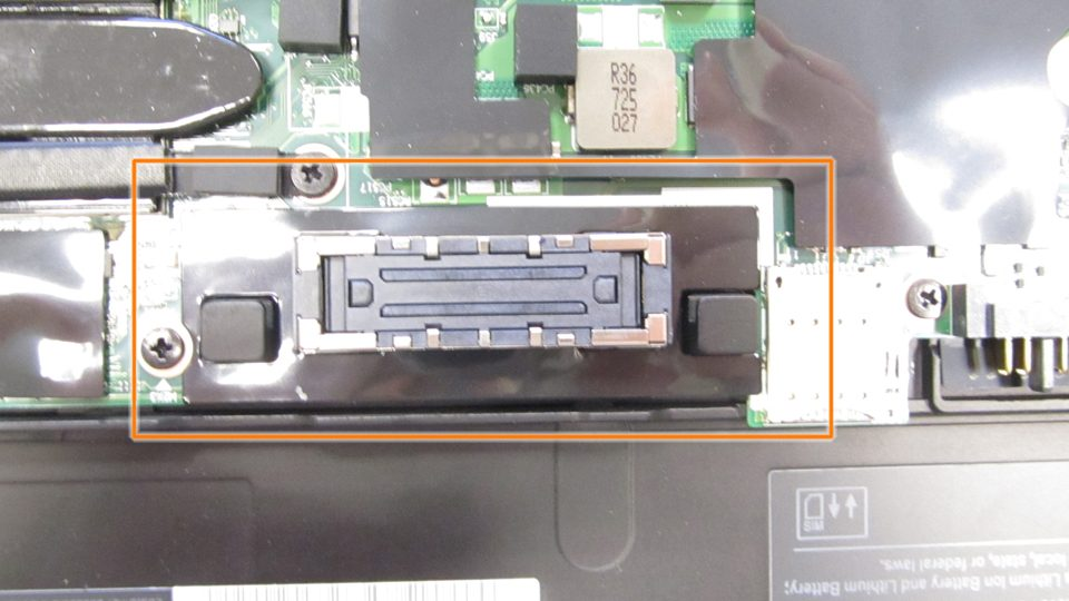 Lenovo Thinkpad Docking Interface