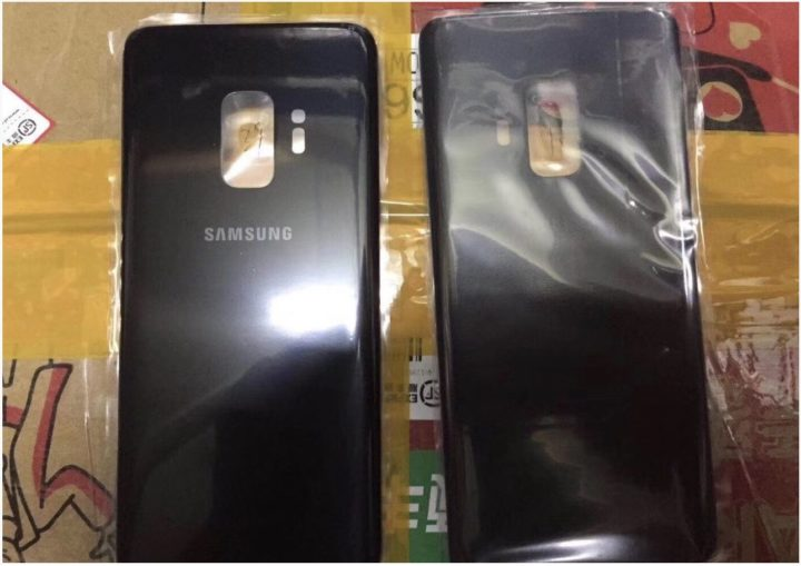 Rückseite Samsung Galaxy S9
