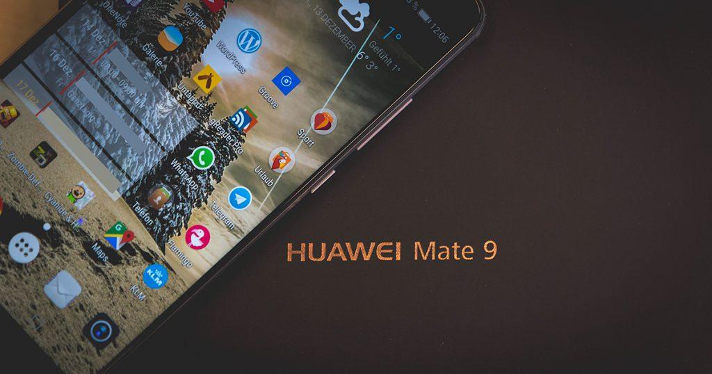 Huawei: Android 8 Oreo für das Mate 9 wird verteilt