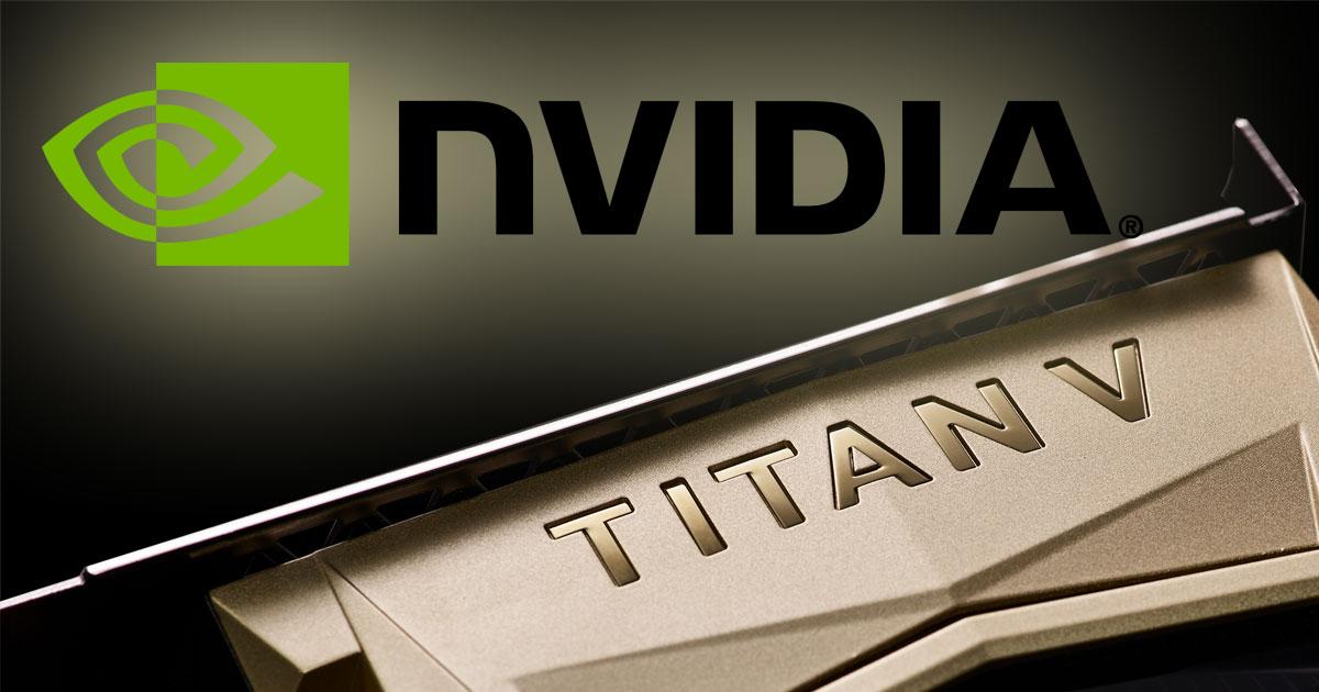 nvidia titan v 21 milliarden transistoren und ein. Black Bedroom Furniture Sets. Home Design Ideas