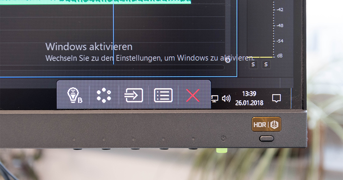 "BenQ EW277HDR: Solider 27"" Full HD-Monitor mit HDR"