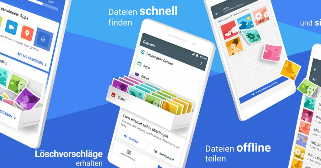 Google Files Go: endlich für SD-Karten und Tablets verfügbar