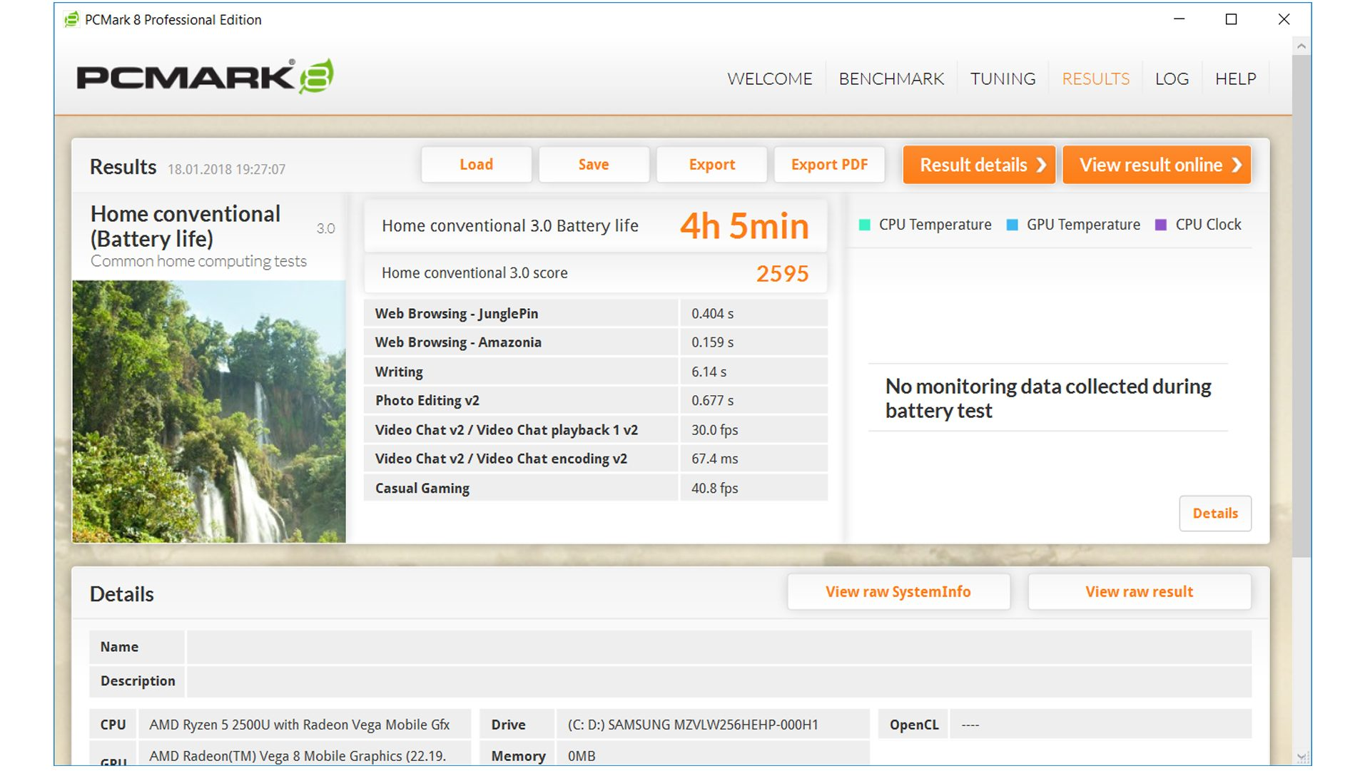 HP Envy x360 15 Ryzen Benchmark_5