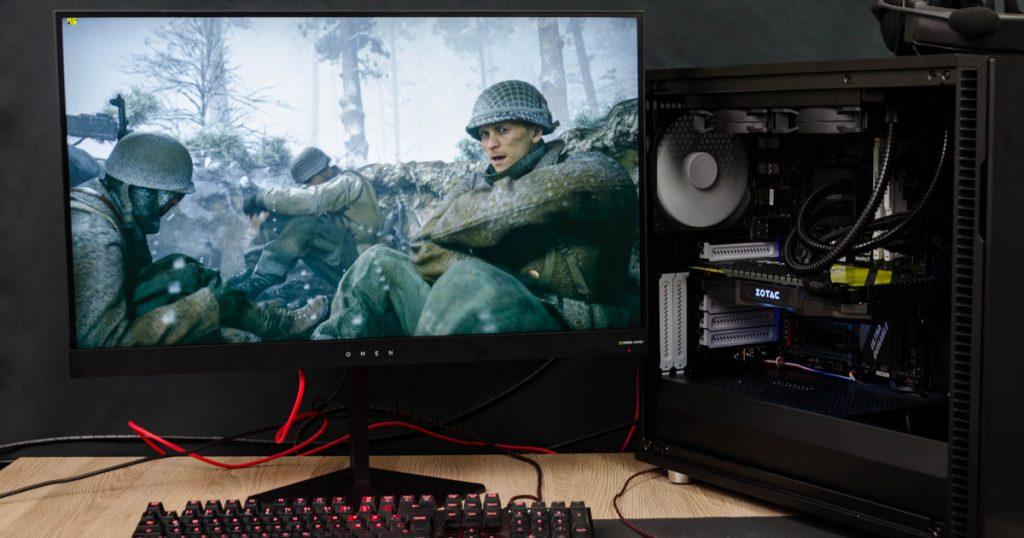 """Omen by HP 27: Reaktionsschneller 27"""" Gaming Monitor mit 165 Hz"""