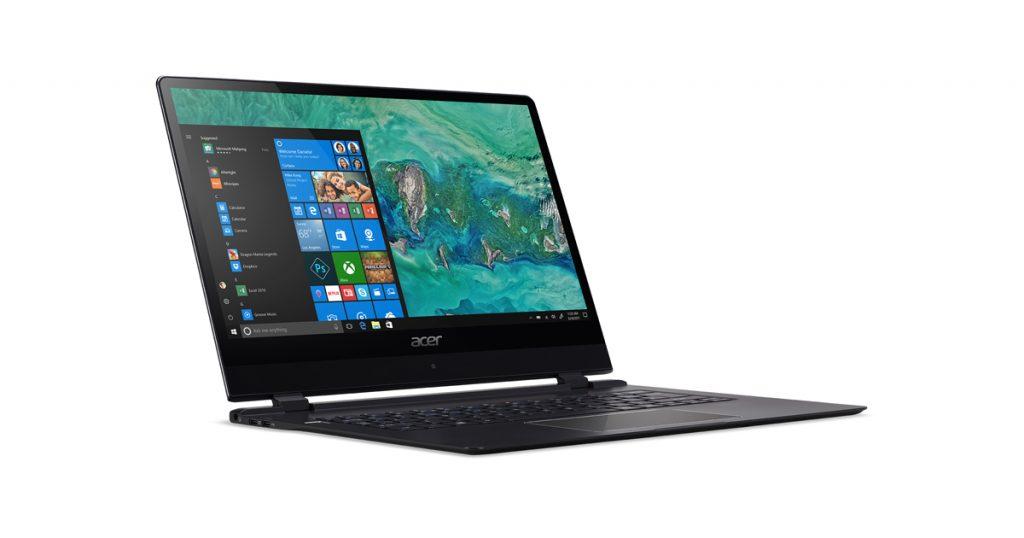 Acer Swift 7 (2018) auf der CES 2018 vorgestellt