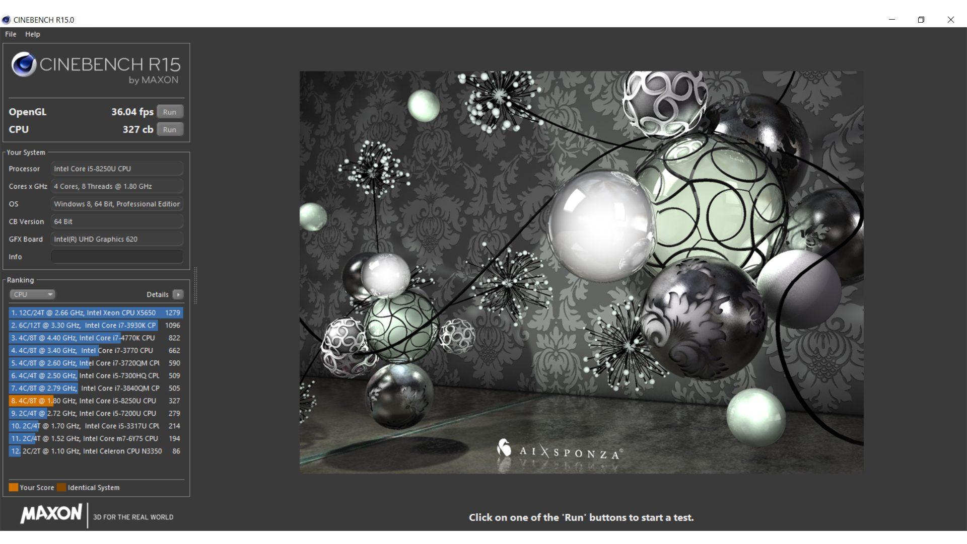 HP ProBook 450 G5 3KY71ES Benchmark_5