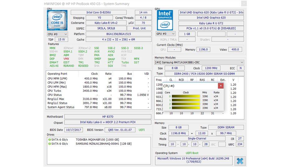 HP ProBook 450 G5 3KY71ES Hardware_8