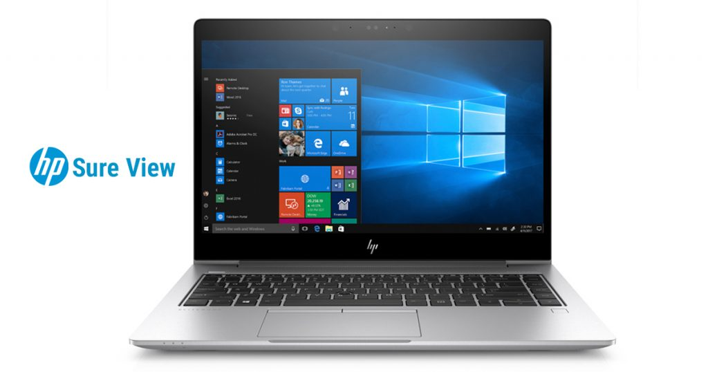 HP EliteBook 840 G5 3JX62EA – Business Notebook mit Sure View