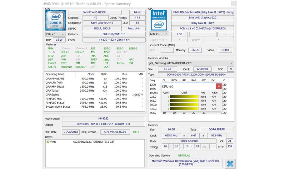 HP EliteBook 840 G5 3JX62EA Hardware_8