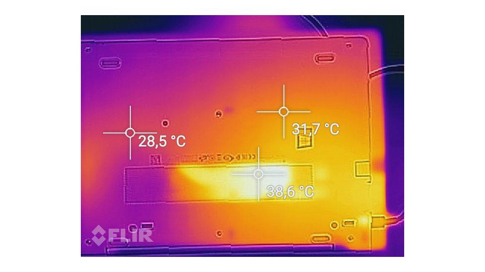 HP EliteBook 840 G5 3JX62EA Hitze_2