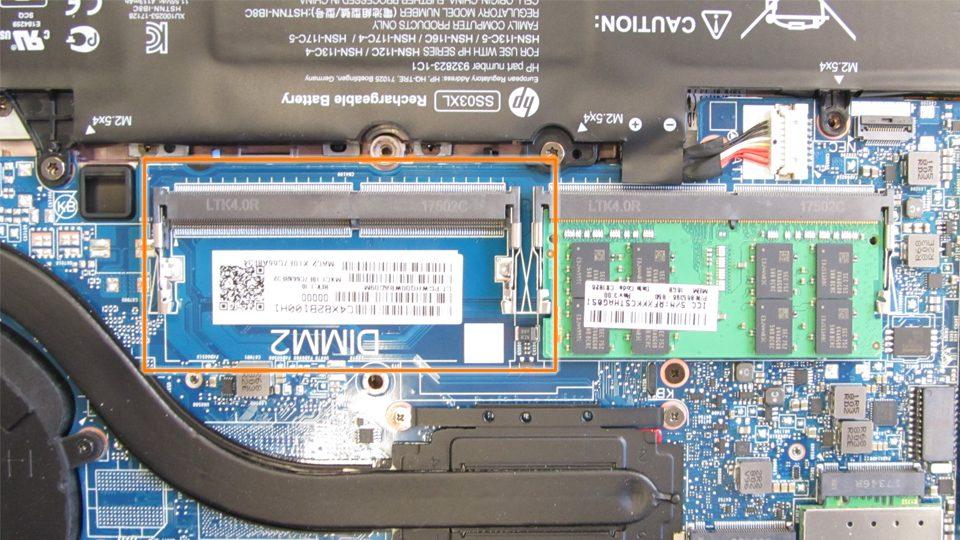 HP EliteBook 840 G5 – freier RAM-Sockel