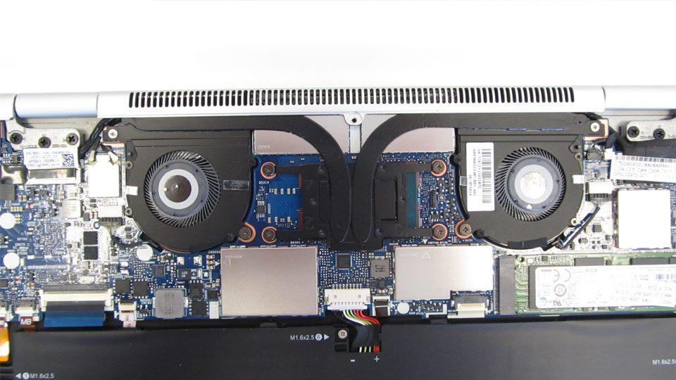 HP EliteBook x360 1020 Kühlsystem