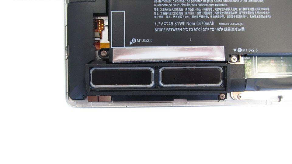 HP EliteBook x360 1020 Lautsprecher