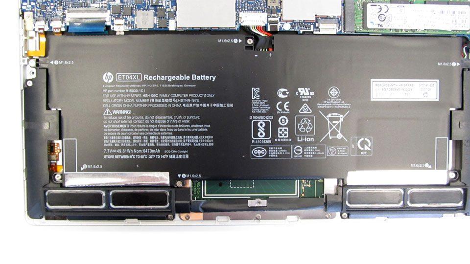 HP EliteBook x360 1020 Akku