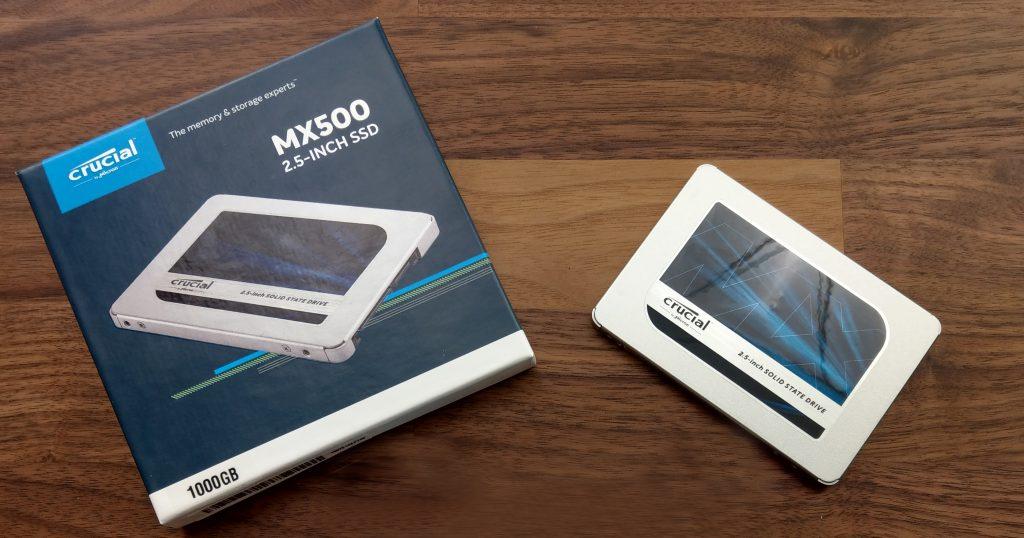 Crucial MX500: Günstige 3D VNAND SSD im Test