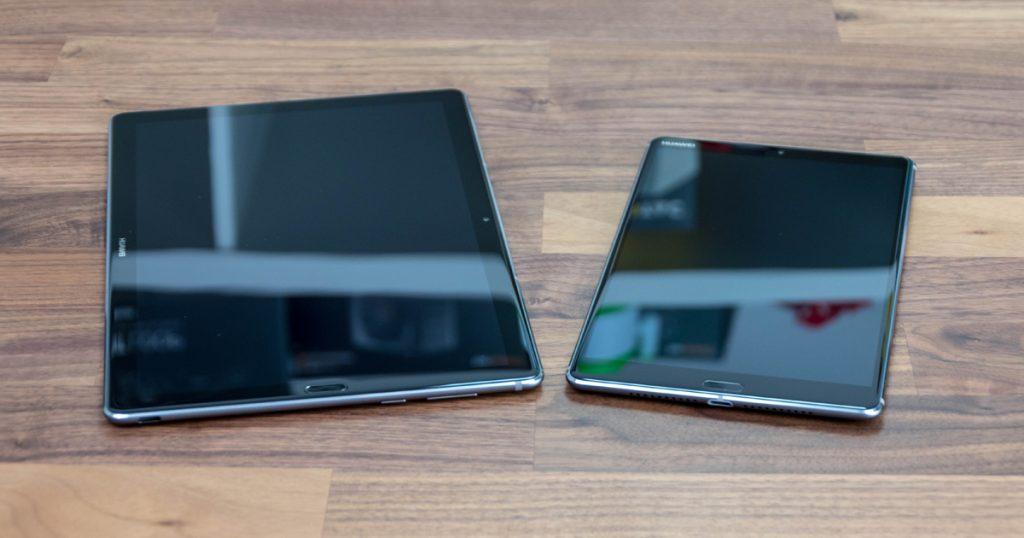 """Huawei MediaPad M5 mit 8,4"""" und 10,8"""" Display: Schicke und gute Tablets"""