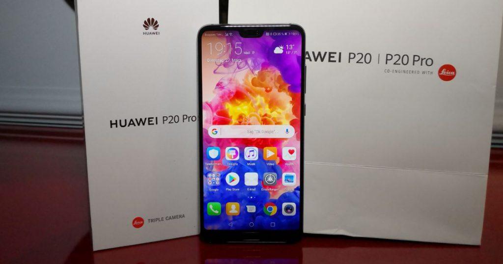 Huawei P20 Pro: Das ist das neue Flaggschiff mit Triple-Kamera