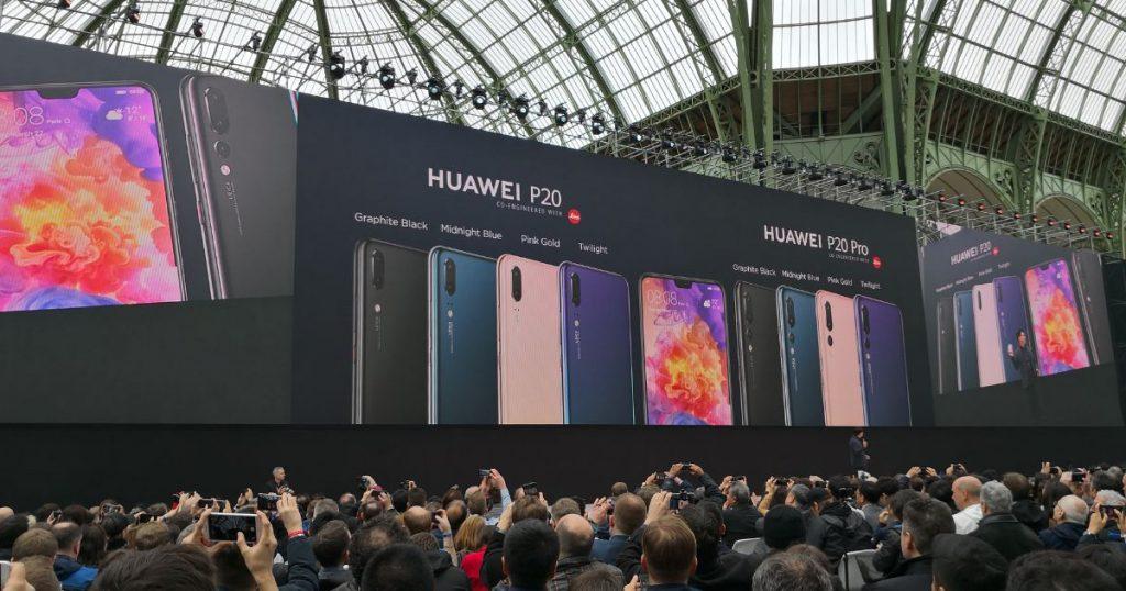 Huawei P20 und P20 Lite offiziell vorgestellt