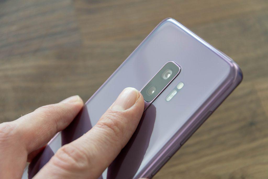 Fingerprintreader Samsung Galaxy S9 Plus