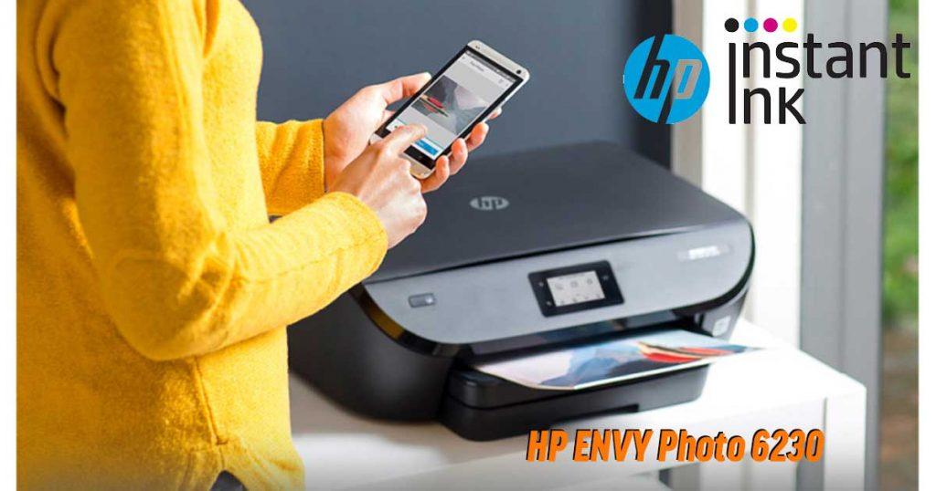 HP Envy Photo 6230 – Multifunktionsdrucker mit 12 Monaten kostenlosem Tinten-Lieferservice