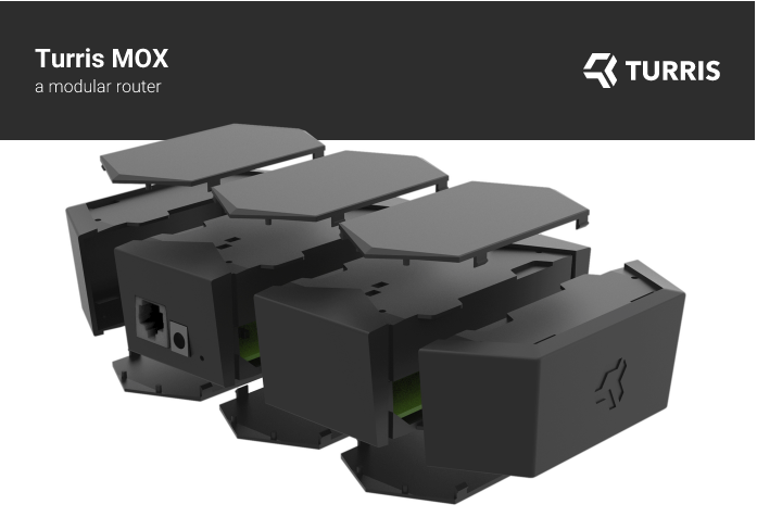 Turris eMOX: Spannender modularer Open Source Router auf Indigogo