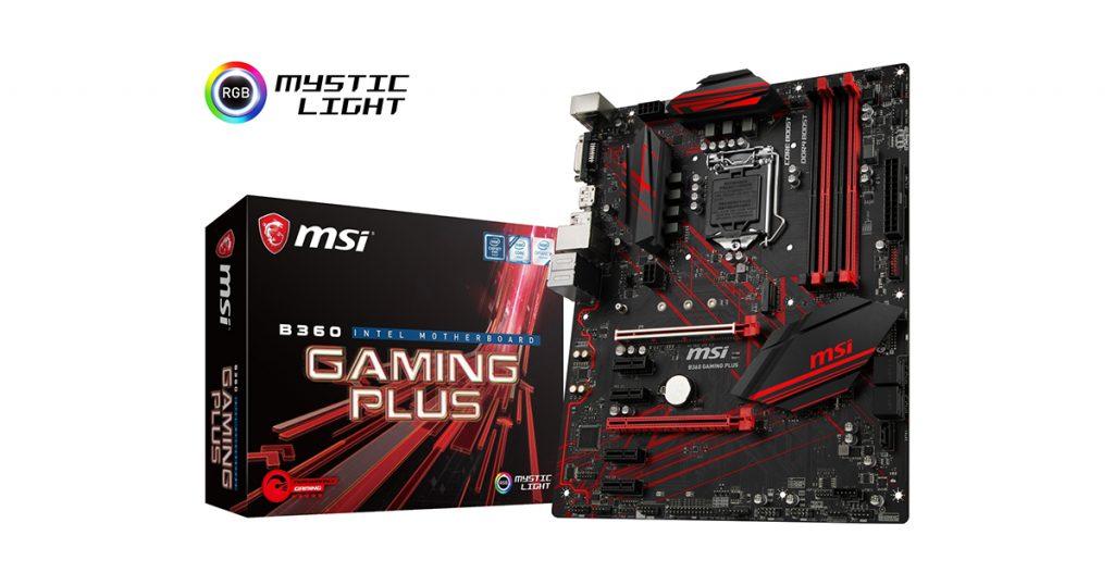 Gamer aufgepasst! Wir suchen Tester für das MSI B360 GAMING PLUS Mainboard
