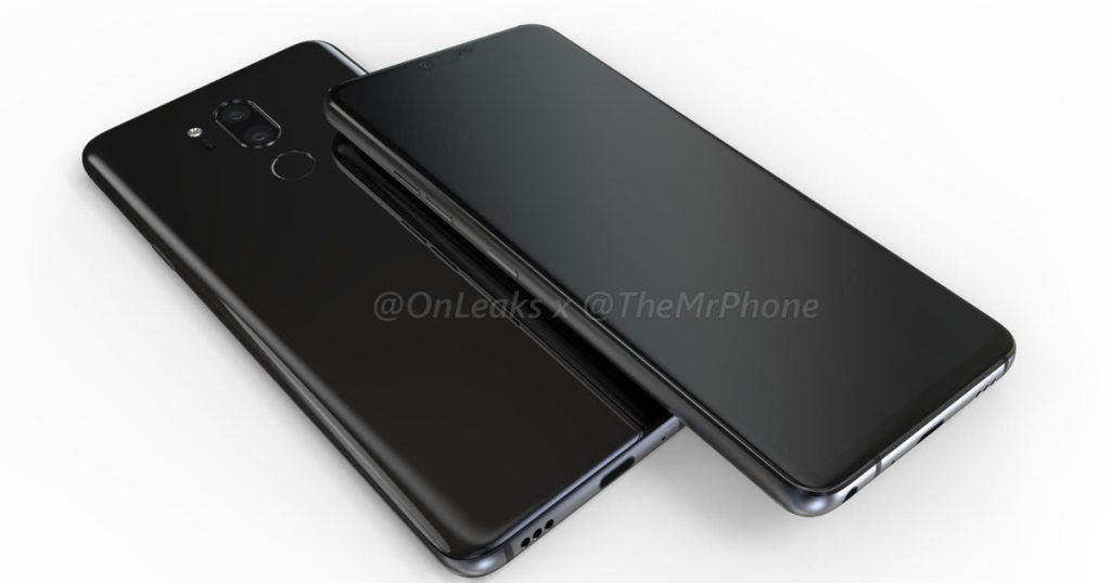 Renderbilder und -video des LG G7 ThinQ aufgetaucht