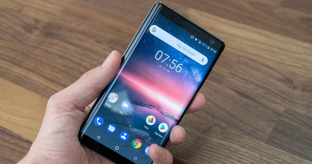 Nokia plant Smartphone mit Fingerprintreader im Display
