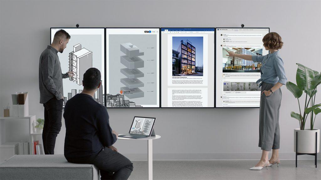 "Microsoft Surface Hub 2: Neuauflage des Monster-""Tablet"""
