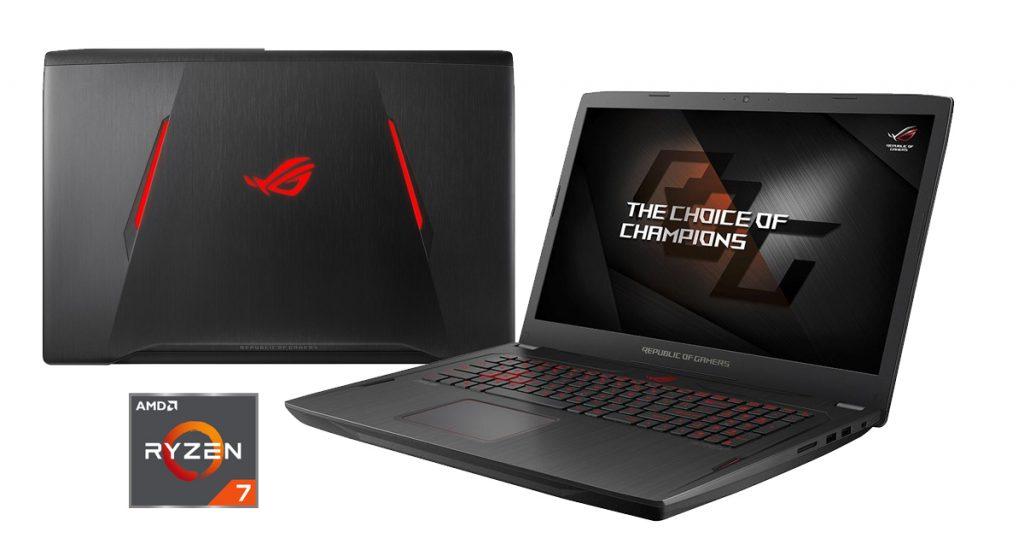 ASUS Strix GL702ZC – Volle Pulle – Das erste Gaming-Notebook mit einem Ryzen Desktop Prozessor im Test