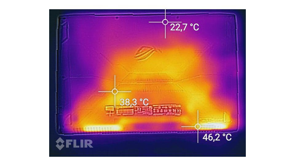 ASUS ROG Strix GL702ZC-GC104T Hitze_2