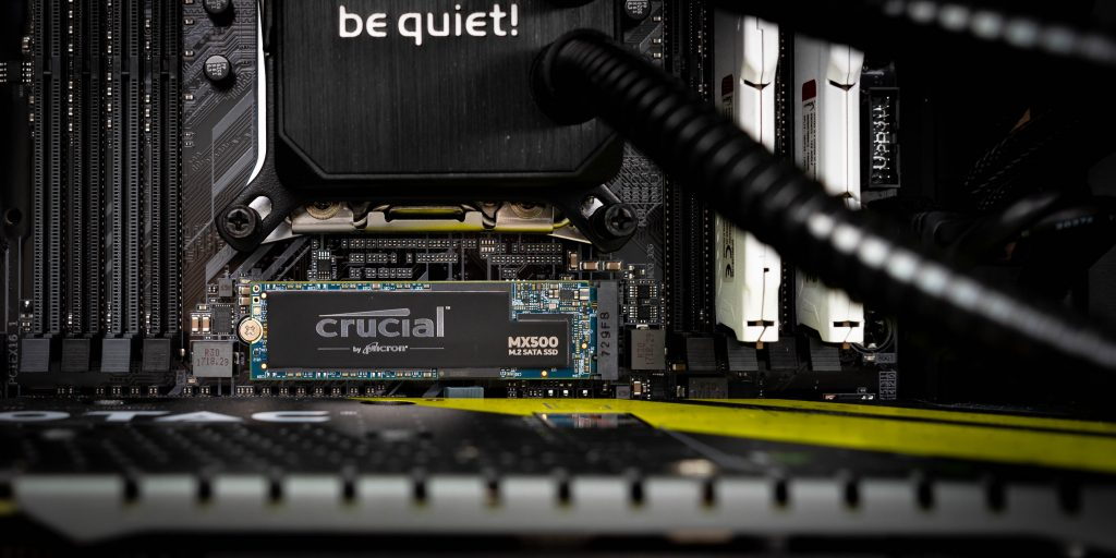 Crucial MX 500 Revisited: M.2 Version im Test