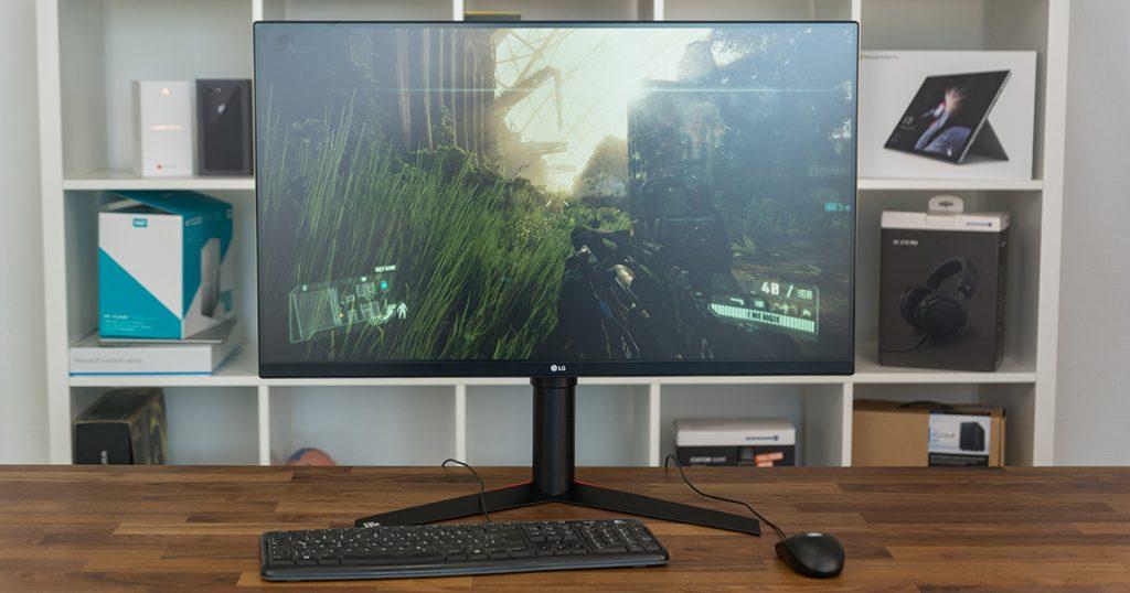 LG 32GK850G: gewaltiger 32″ Gaming-Monitor mit 165 Hz, G-Sync und RGB-Beleuchtung im Test