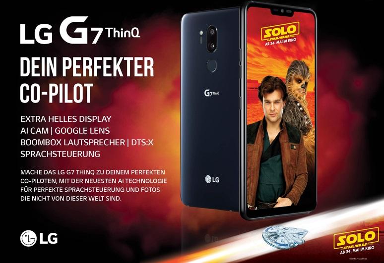 LG G7 ThinQ ab sofort vorbestellen und Bonus sichern!