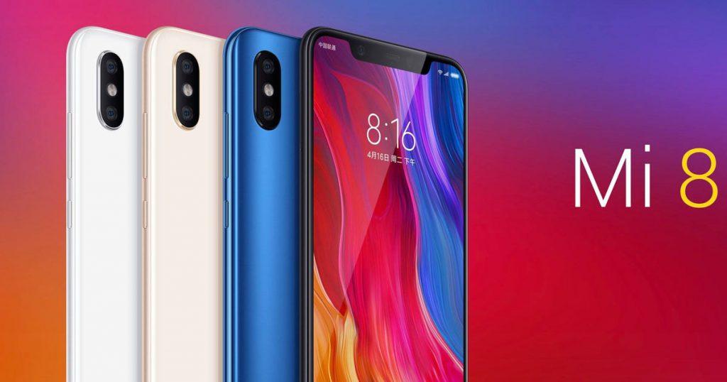 Xiaomi Mi 8 vorgestellt- Supernotch mit 3D Gesichtserkennung