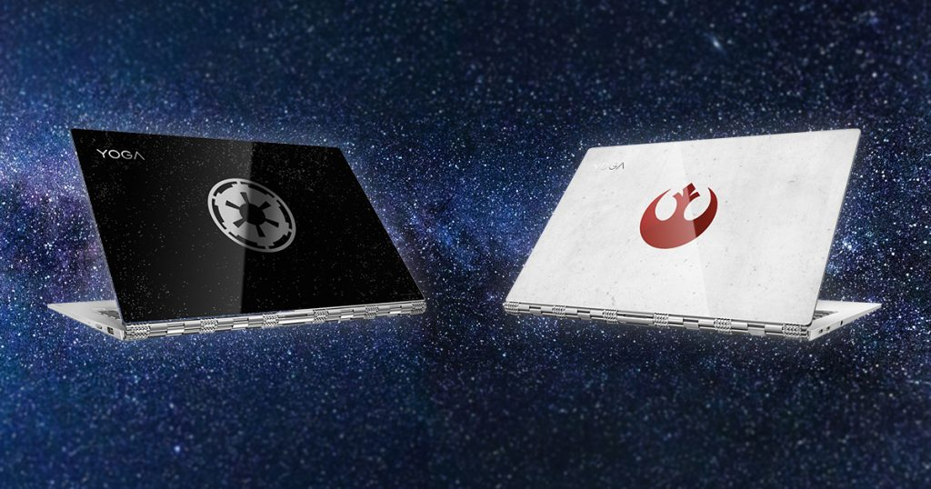 Star Wars Day: Lenovo Yoga 920 im limitierten Star Wars-Design nur heute für 1299 Euro
