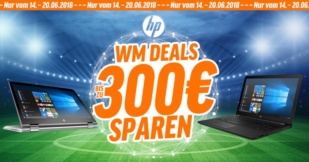 HP WM Deals – bis zu 300€ auf ausgewählte HP-Notebooks sparen