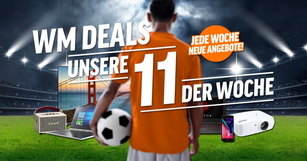 Unsere WM Deals der Woche: Fernseher, Notebooks, Tablets, Beamer, Smartphones